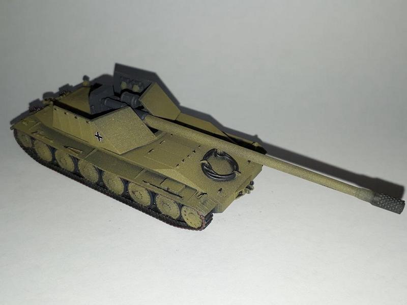 Rheinmetall/Borsig Waffenträger 12,8cmPak