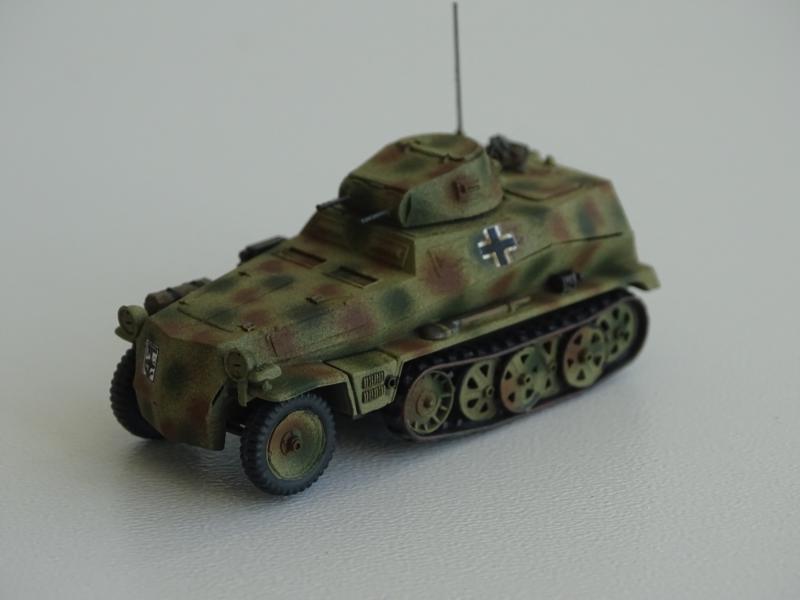 Sd.Kfz.250 mit Pz.I Turm