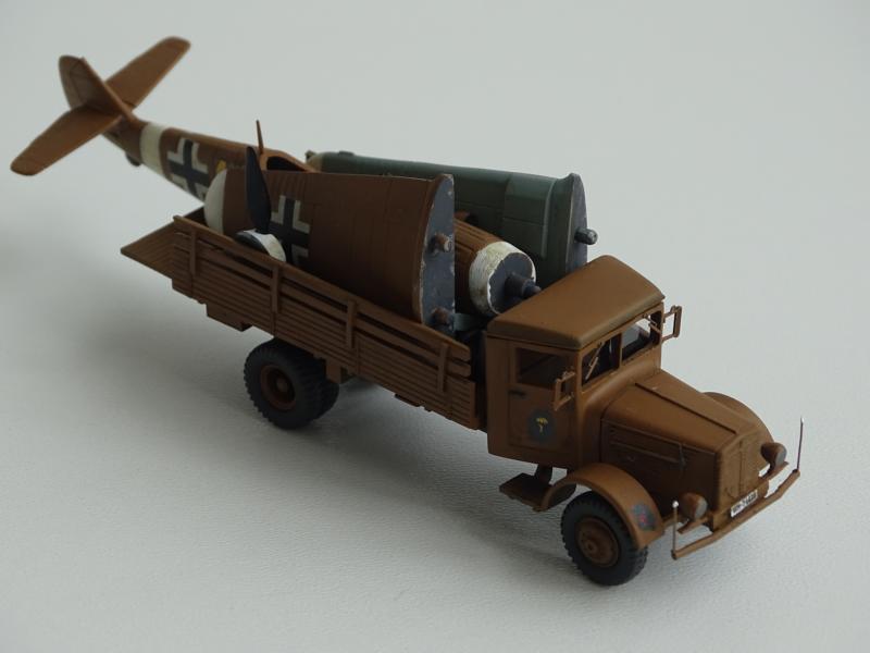 Büssing-NAG 4500 mit Me 109 DAK