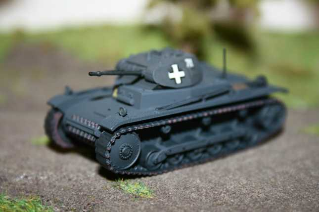 a) Panzer II Ausf.b